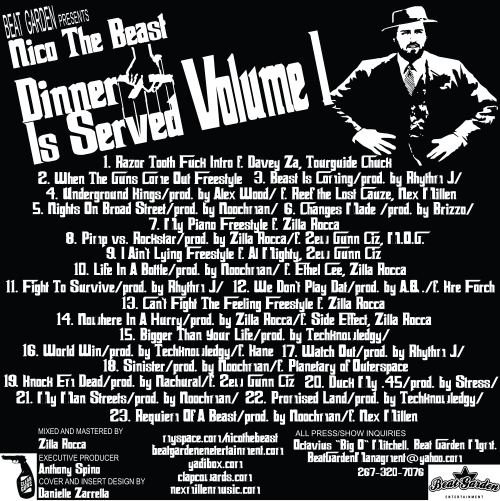 dinner-is-served-tracklisting